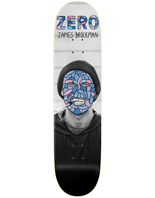 Zero x Lucas Beaufort Brockman Re-Portrait Pro Deck - 8.375""