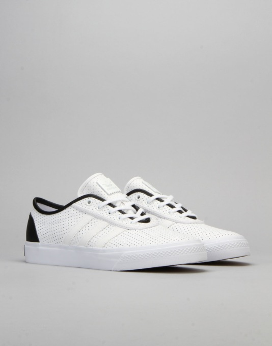 Adidas Adi-Ease Classified Skate Shoes - White/Core Black/White