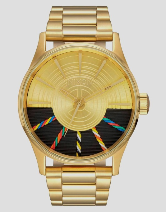 Nixon x Star Wars Sentry SS Watch - C-3PO Gold