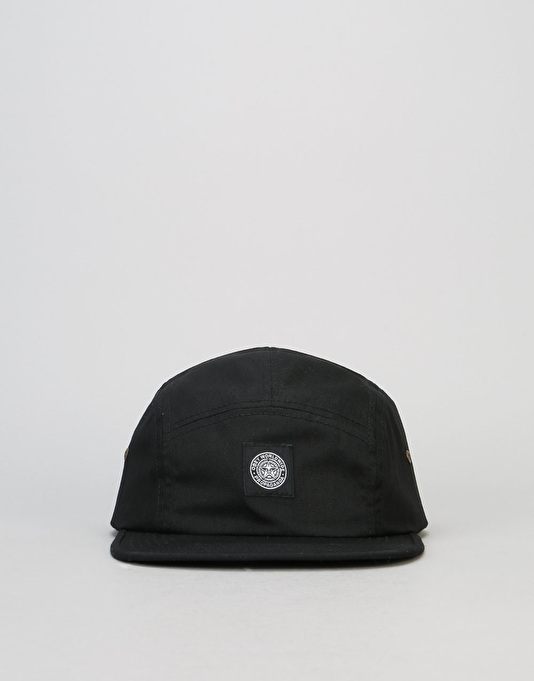Obey Worldwide Seal 5 Panel Cap - Black