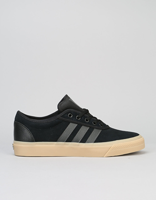 Adidas Adi-Ease Skate Shoes - Core Black/DGH Solid Grey/Gum