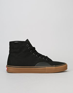 Vans AV Classic High Skate Shoes - Black/Gum