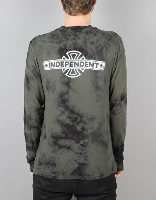 Emerica x Independent L/S T-Shirt - Dark Green