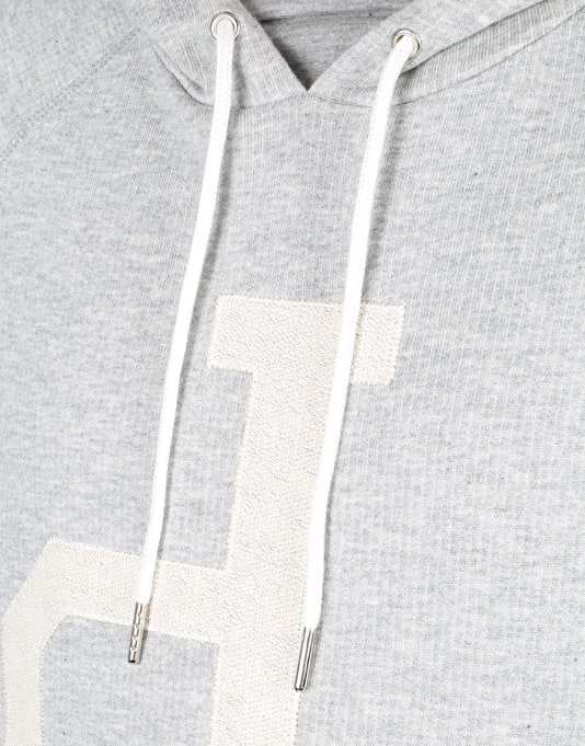 Diamond Supply Co. Un-Polo Pullover Hoodie - Grey