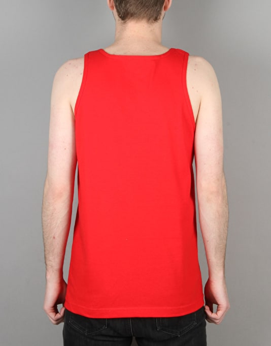 Diamond Supply Co. Un Polo Tank Top - Red