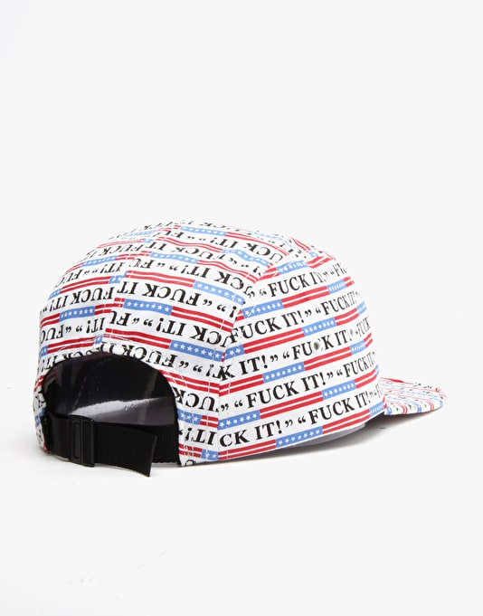 HUF Fuck It Volley 5 Panel Cap - All Over