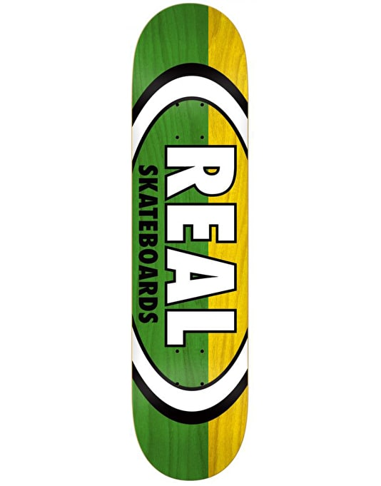 Real Two Tone Oval Team Deck - 8.25""
