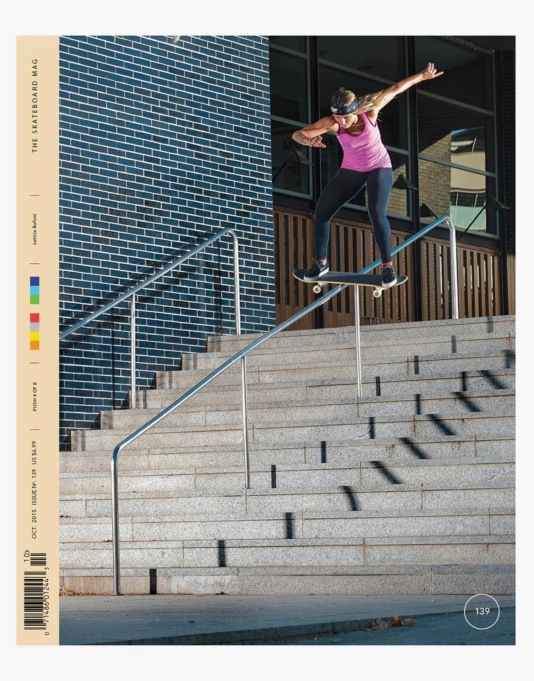 The Skateboard Mag Issue 139 October 2015