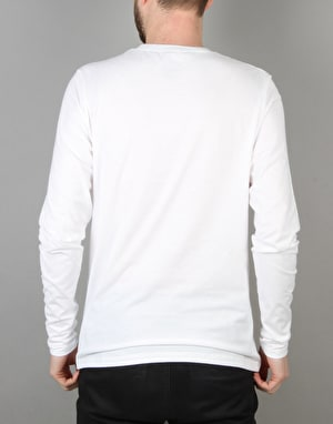 Hopps Lion Embriodery L/S T-Shirt - White