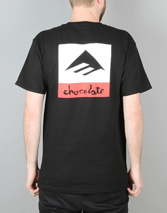 Emerica x Chocolate Logo T-Shirt - Black