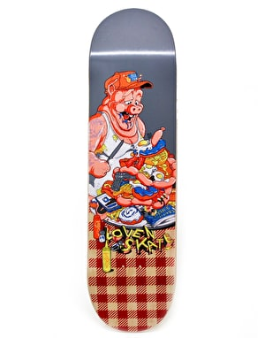 Lovenskate American Breakfast Team Deck - 8.125
