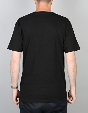 Spitfire Bighead Fill T-Shirt - Black