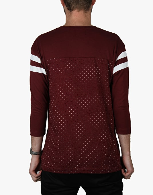 Diamond Supply Co. Micro Diamond Football Top - Burgundy