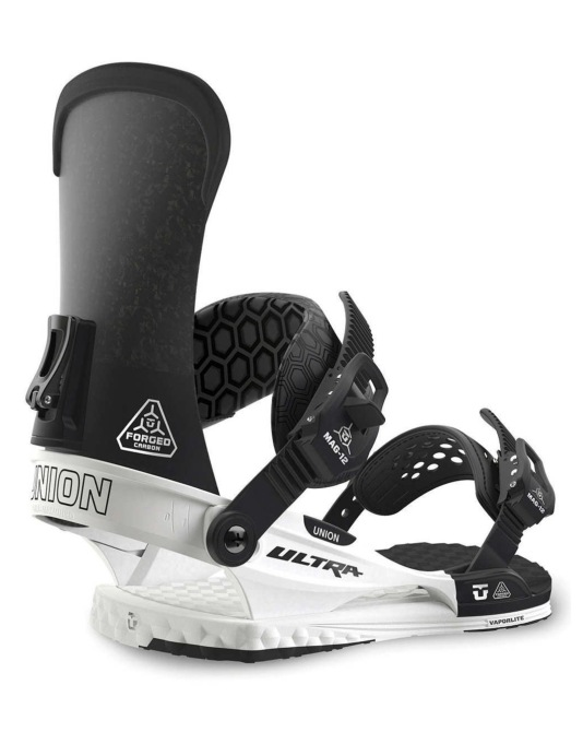 Union Ultra 2016 Snowboard Bindings - White/Black