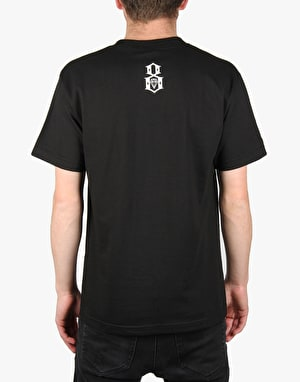 Rebel8 Skull Scribe T-Shirt - Black