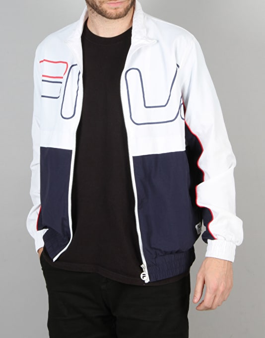 Fila Black Line Kekova Windbreaker Jacket - Navy