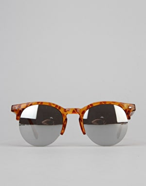 Route One Basics Clubmaster 2.0 Sunglasses - Light Tortoise