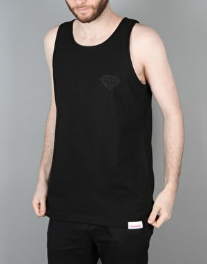 Diamond Supply Co. Tonal Chest Brilliant Tank Top - Black