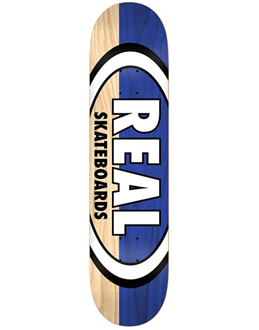 Real Two Tone Oval Team Deck - 8.5""