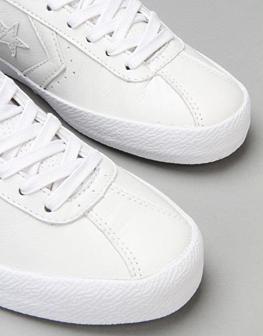 Converse Breakpoint Skate Shoes - White/White/Gold