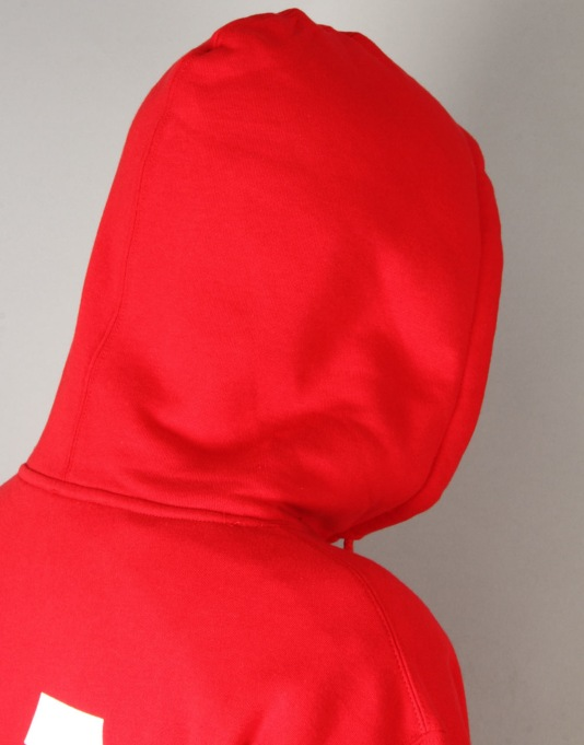 HUF x Thrasher Classic H Pullover Hoodie - Red