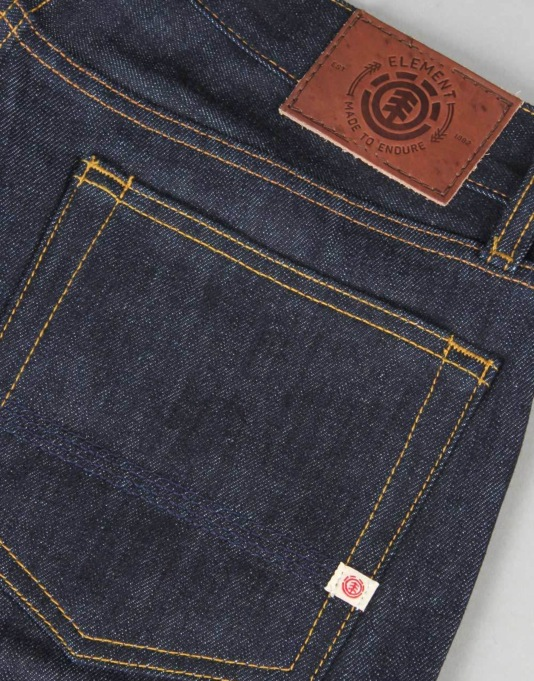 Element Boom Denim Jeans - SB Raw
