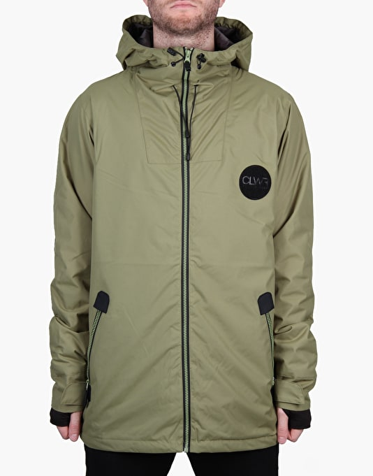 Colour Wear Solid 2016 Snowboard Jacket - Loden