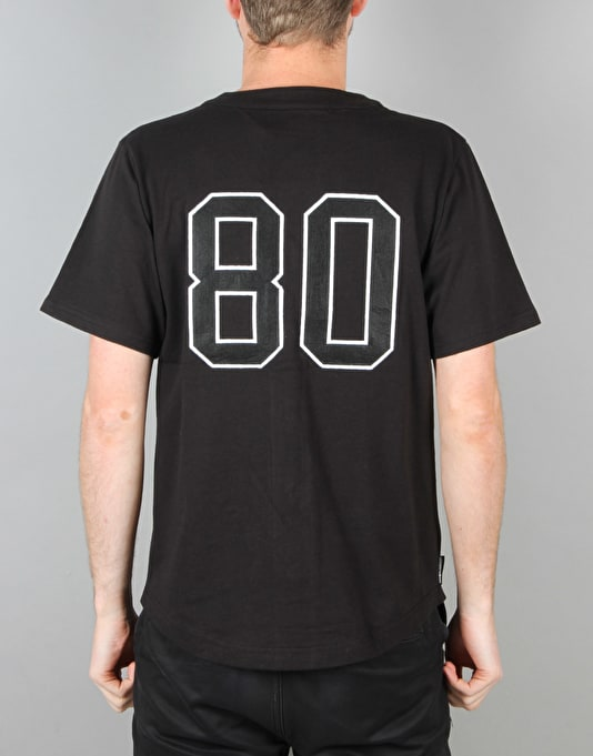 The Hundreds Parkside Baseball Jersey - Black