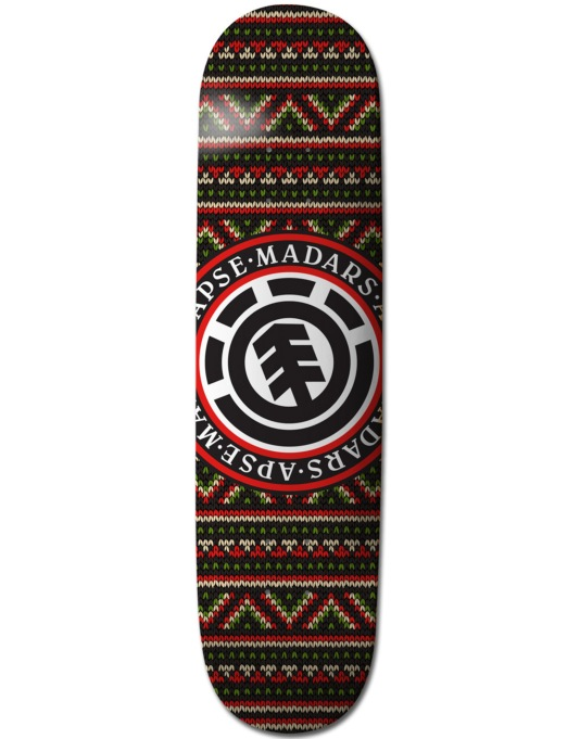 Element Madars Pattern Classic Featherlight Pro Deck - 8""