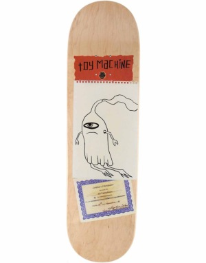 Toy Machine Templeton Scraps Pro Deck - 8.5