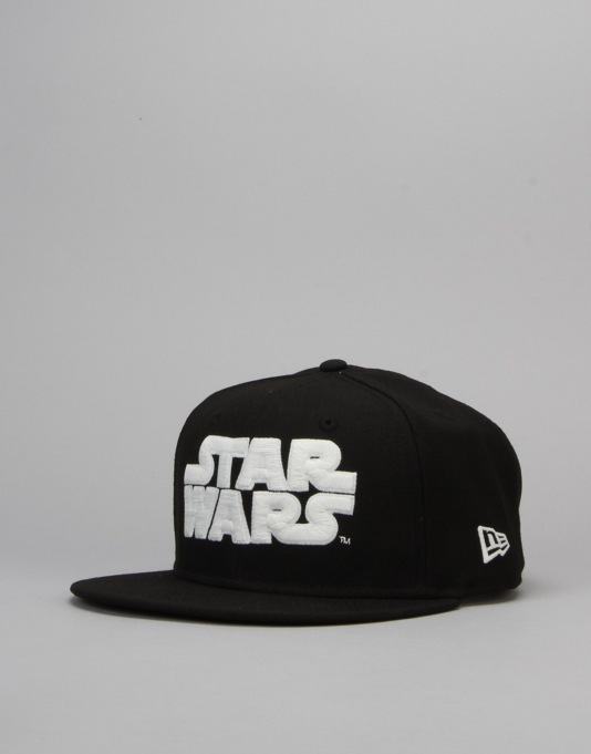 New Era x Star Wars Logo Snapback Cap - Black/Glow In The Dark