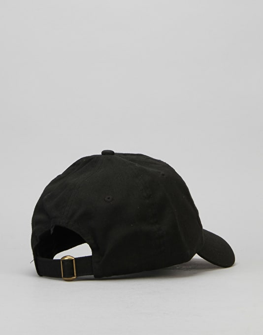 40's & Shorties The Best Unstructured Strapback Cap - Black