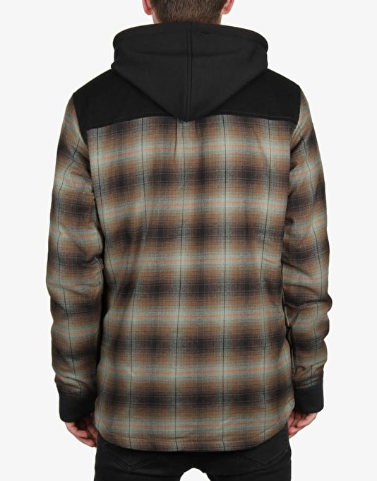 DC Backwoods 2016 Zip Hoodie - Sea Spray