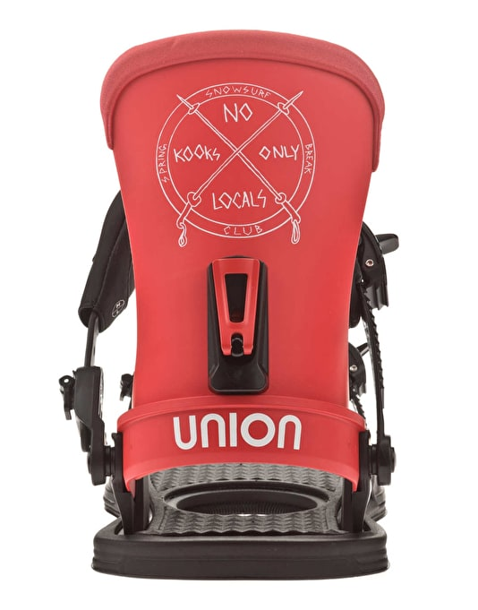 Union Spring Break Custom House 2016 Snowboard Bindings - Black