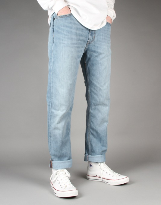 Levi's Skateboarding 513 Straight Jeans - Waller Blue
