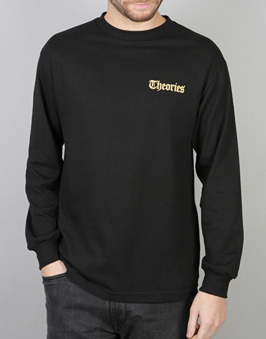 Theories TOA Times L/S T-Shirt - Black/Gold