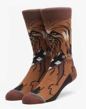 Stance x Star Wars Chewie Socks - Brown