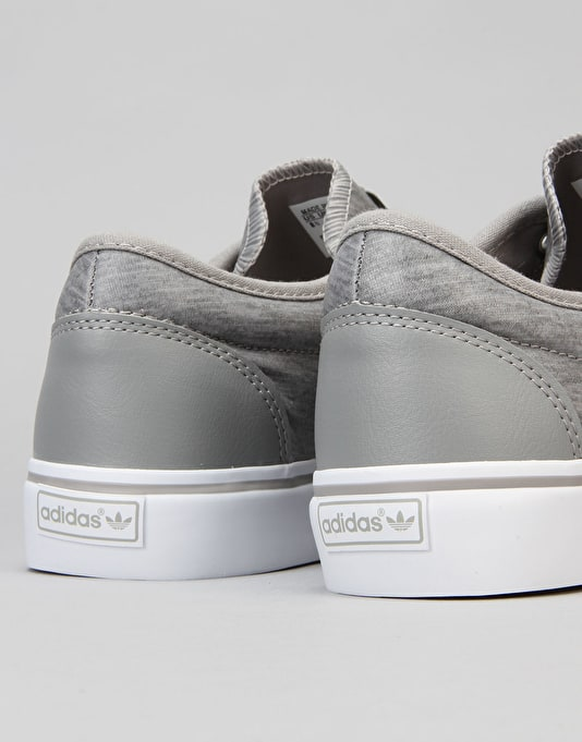Adidas Adi-Ease Skate Shoes - Solid Grey/Solid Grey/FTWR White