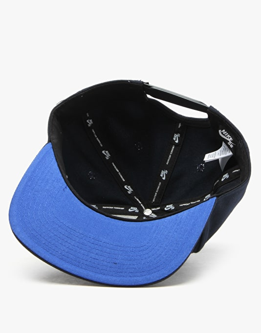 Nike SB Icon Snapback Cap - Dark Obsidian/Game Royal/Game Royal