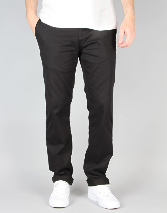 DC Worker Slim Chino Pant - Black