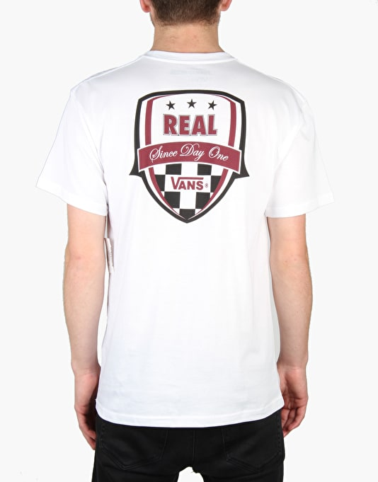 Vans x Real Skateboards T-Shirt - White