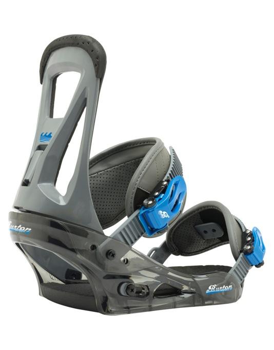 Burton Freestyle 2016 Snowboard Bindings - Smoke