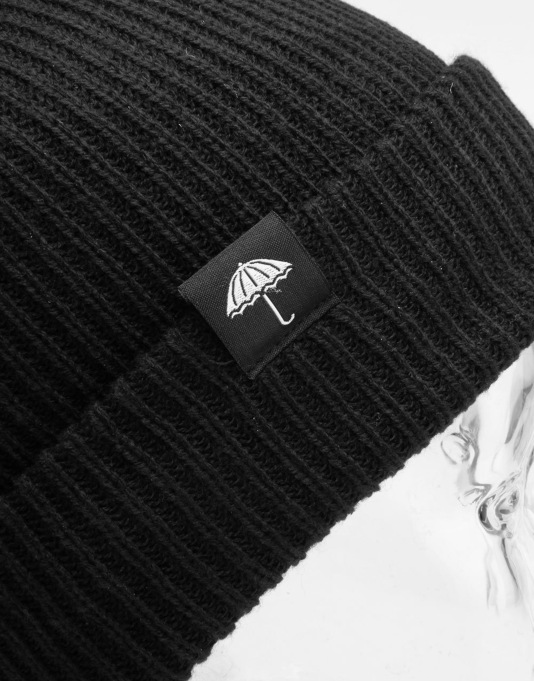 Hélas Umbrella Beanie - Black