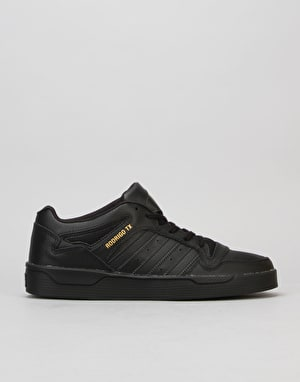Adidas Locator (Rodrigo TX) Skate Shoes - Black/Black/Gold Met.