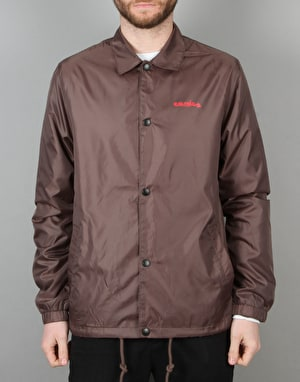 Emerica x Chocolate Dawbber Coach Jacket - Brown