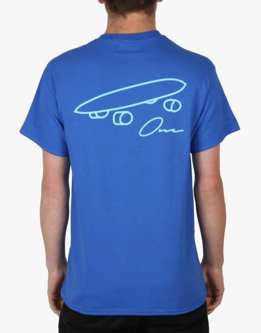 Route One Plank T-Shirt - Royal
