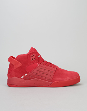 Supra Skytop III Skate Shoes - Red/Red/Red