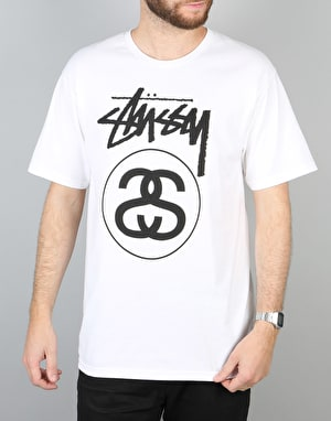 Stüssy Stock Link T-Shirt – White