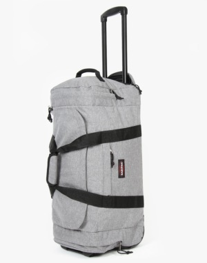 Eastpak Leather Face Medium Luggage Bag - Sunday Grey
