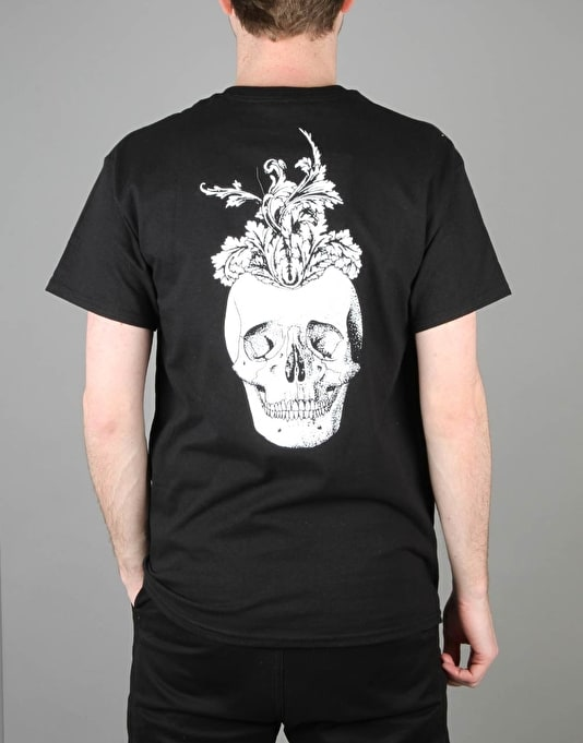 Scarred For Life Mindskull T-Shirt - Black